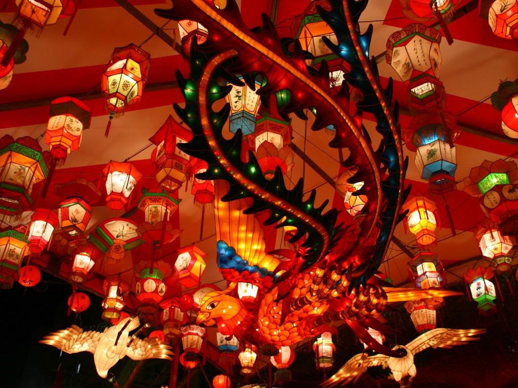 無料壁紙 無料素材 長崎ランタンフェスティバル 華僑 中国 旧正月 新地中華街